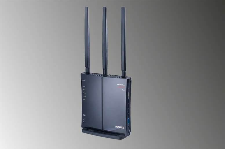 BUFFALO WZR-HP-G450H: a fast single-band router with support for three streams