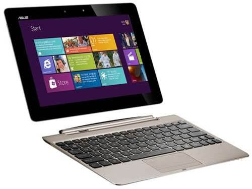 Windows 8 tablet hybrids to arrive late 2012