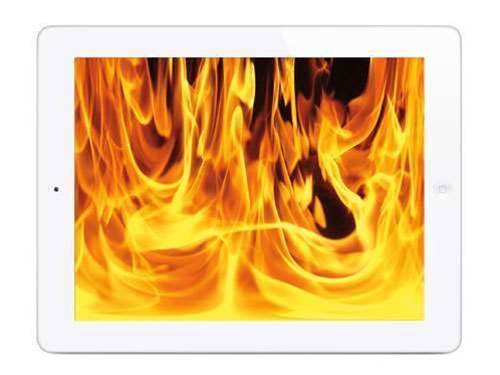 Apple users complain of overheating iPads