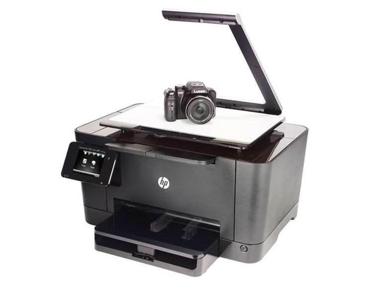 HP TopShot Laserjet Pro M275 review: an all-in-one laserjet for