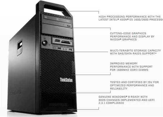 Lenovo debuts three upgraded ThinkStations
