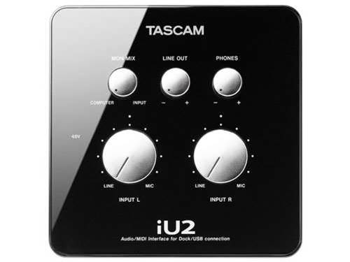 Tascam iU2 audio interface rocks out