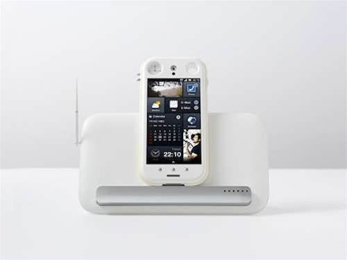 Fusion phone concept fuses analogue and digital