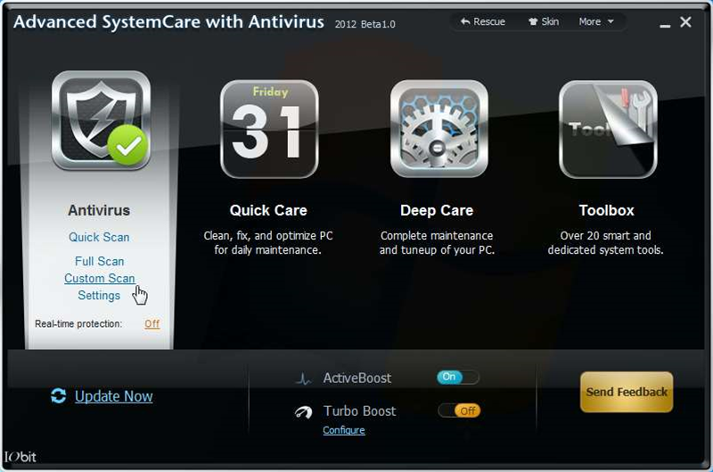 IObit releases Advanced SystemCare with Antivirus 2012 public beta