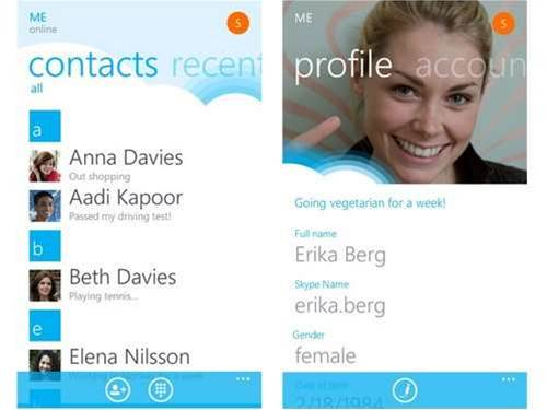 Skype launches on Windows Phone