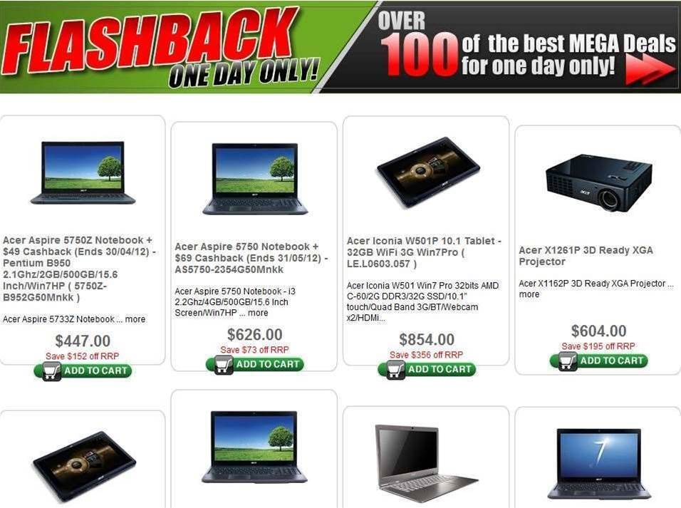 eStore.com.au holding 24-hour IT clearance sale