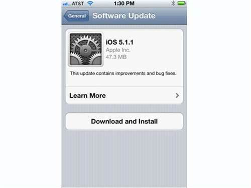 Apple stomps on bugs with new update