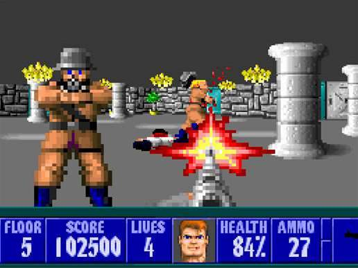 Wolfenstein 3D celebrates 20th anniverary with free game