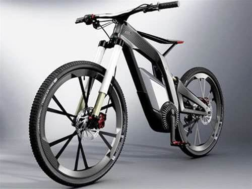 Audi reveals 50mph electric bike