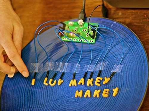 Turn any old junk into a keyboard, mouse and joystick with the MaKey MaKey gadget