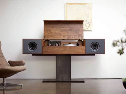 Symbol Audio Modern Record Console: made for vinyl lovers