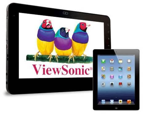 ViewSonic preps giant 22in tablet
