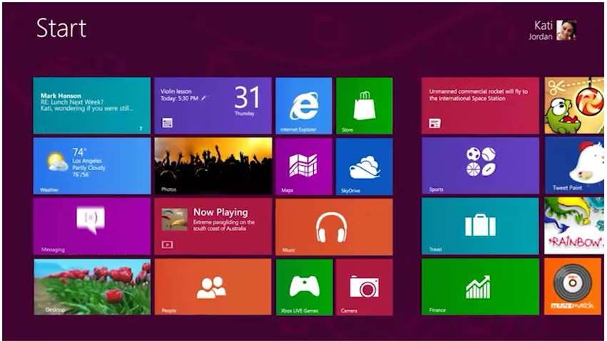 Microsoft reveals near-final Windows 8