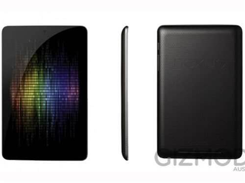 Google's first tablet leaks
