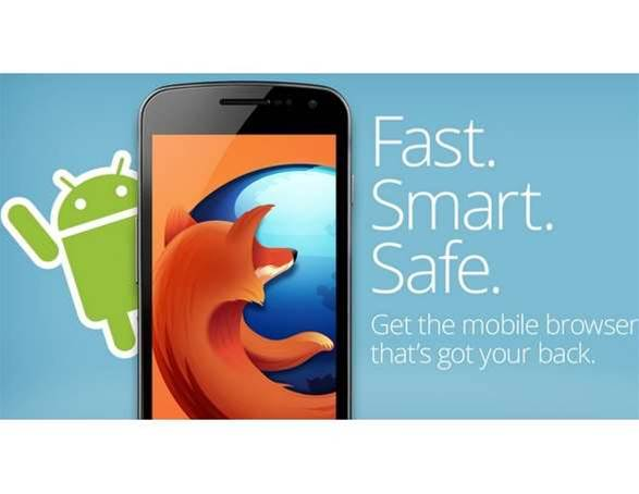 Firefox blasts its way back onto Android with a new look and faster browsing
