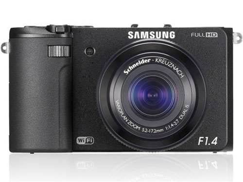 Samsung's EX2F boasts brightest compact camera lens