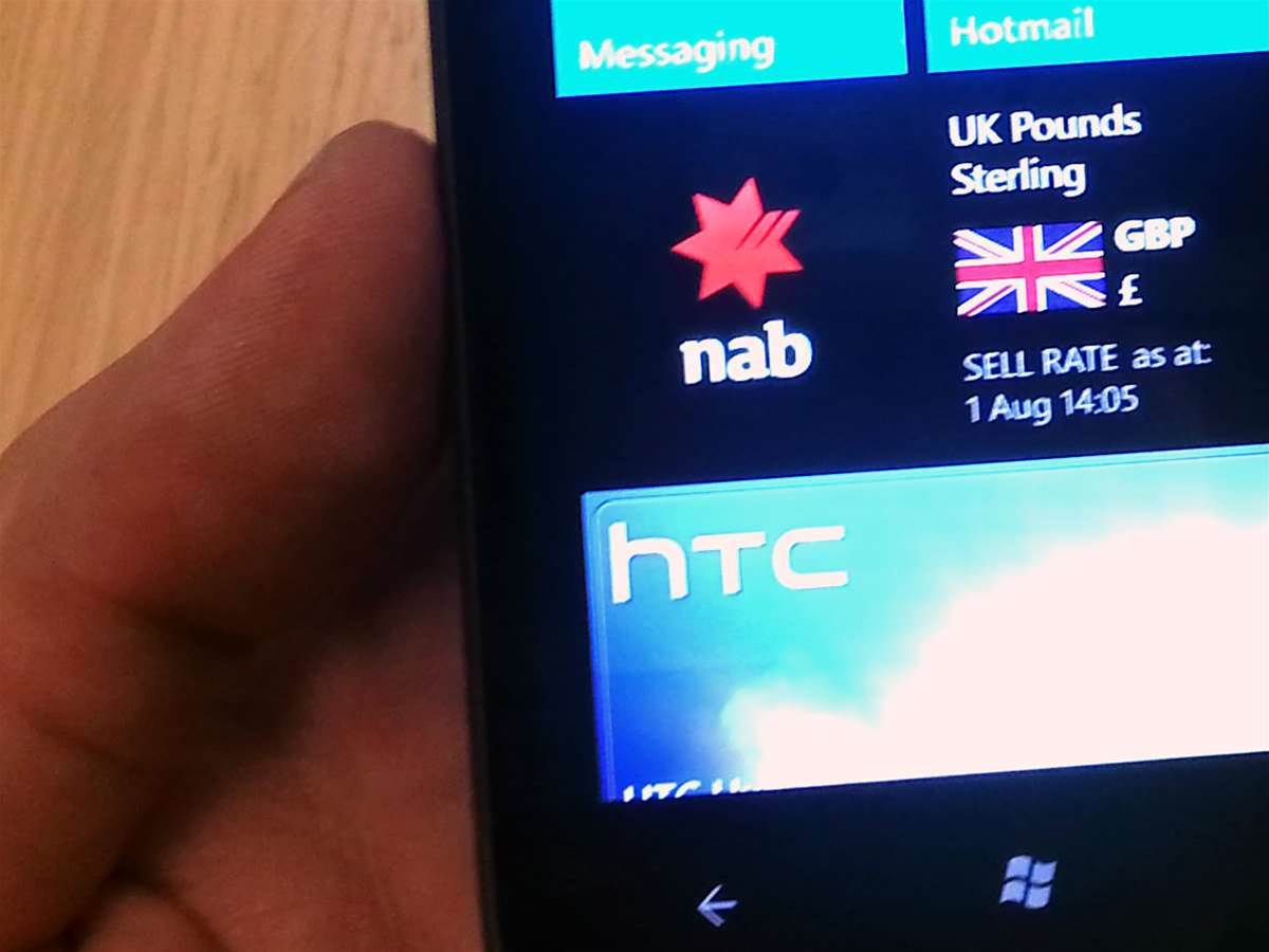 NAB launches Windows Phone banking app