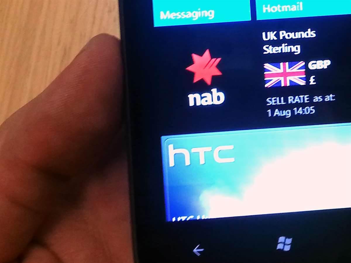 NAB launches Windows Phone banking app