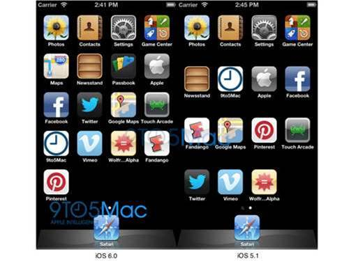 iOS 6 hints at bigger iPhone 5