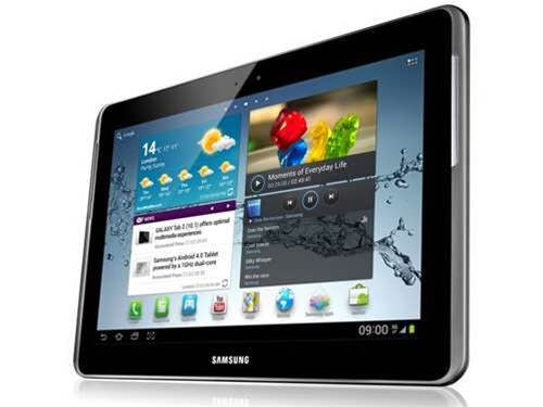 Samsung takes aim at the iPad with the P10 tablet