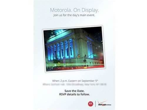 Motorola steals Nokia's thunder with same-day event
