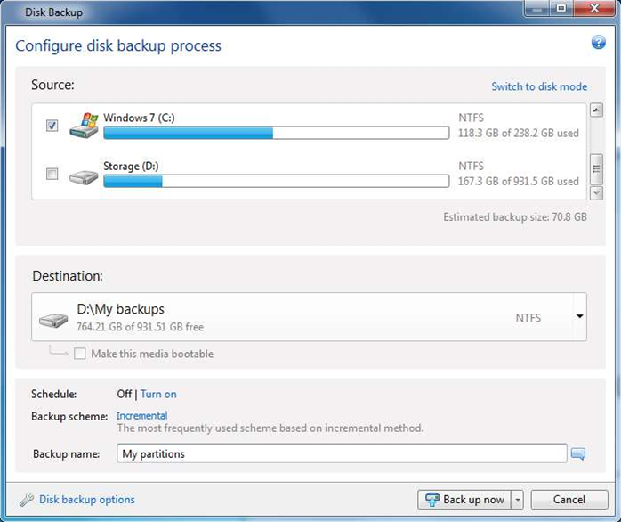 Acronis True Image 2013 introduces new cloud storage service, Windows 8 support
