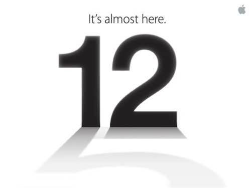 Apple invites go out for September 12th event – iPhone 5 incoming