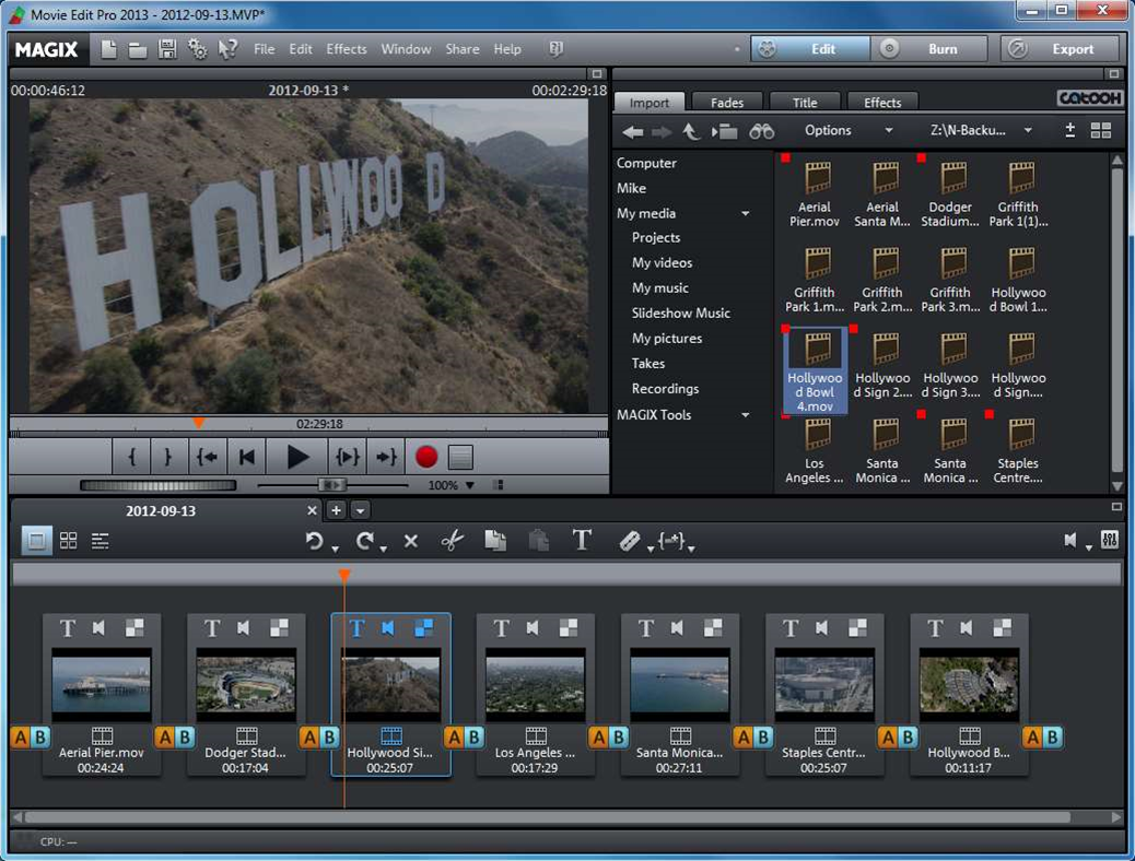 MAGIX Movie Edit Pro 2013 ramps up performance