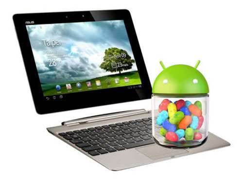 Asus Transformer Prime and Infinity Jelly Bean update imminent