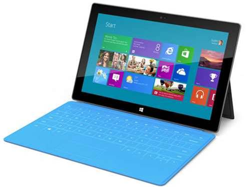Microsoft Surface to launch at midnight on October 25th