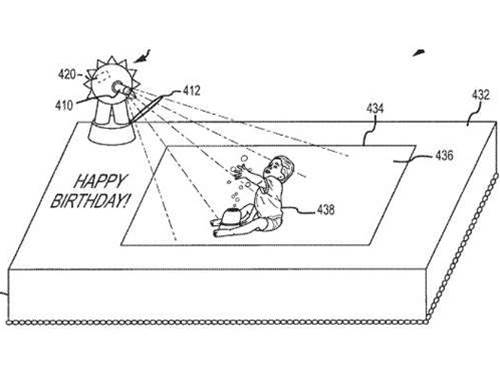 Your next birthday cake may display augmented reality video