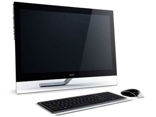 Acer shows off two Windows 8 all-in-ones