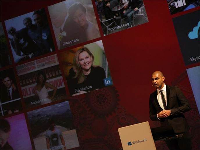 Microsoft launches Windows 8 in Australia