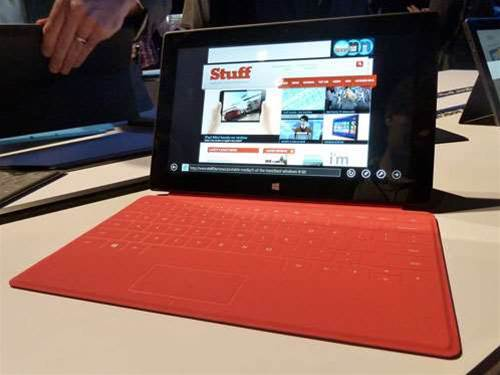 Microsoft Surface hands-on preview