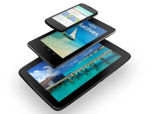 Google Nexus 10, Nexus 4 and 32GB Nexus 7 announced