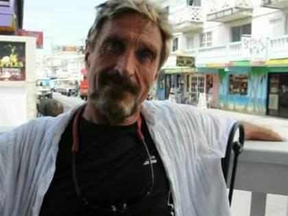 McAfee founder denies murder, flees police
