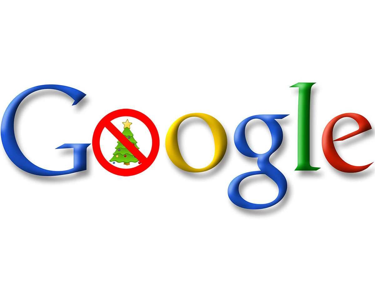 Google cancels Christmas