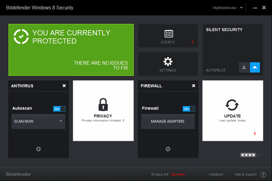 "Bitdefender Windows 8 Security: ""the first Windows 8 antivirus"""