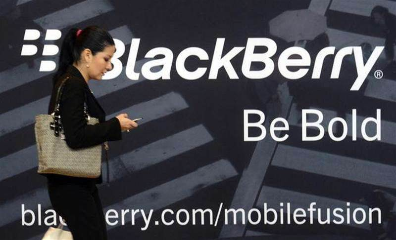 BlackBerry posts surprise profit
