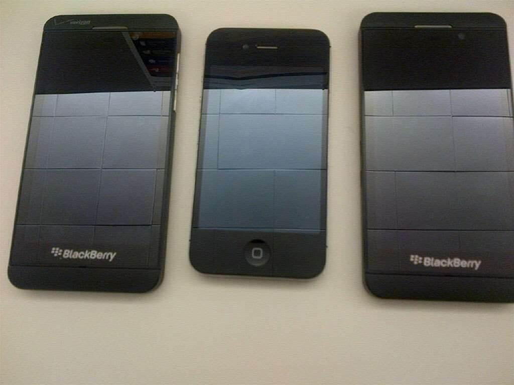 BlackBerry Z10 image leaked