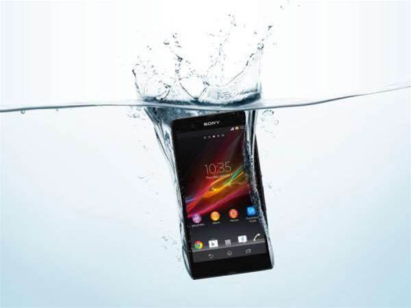 CES 2013: Sony reveals waterproof Xperia Z smartphone