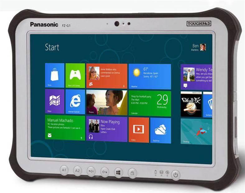 Panasonic introduces Windows 8 Toughpad