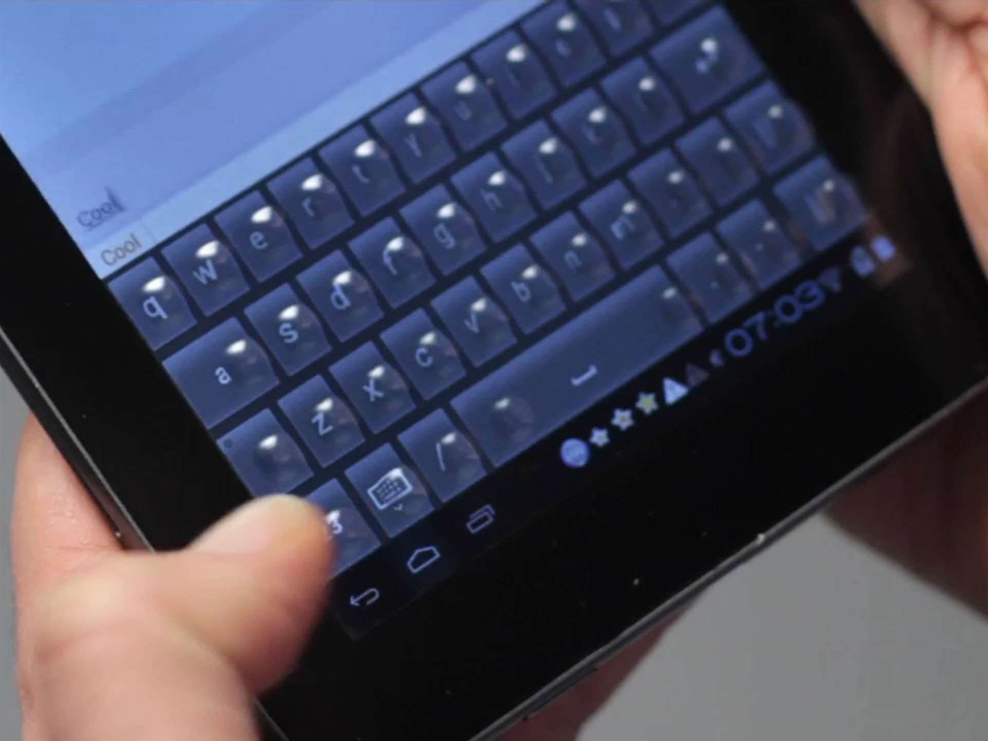 Video: Morphing touchscreen keyboard unveiled