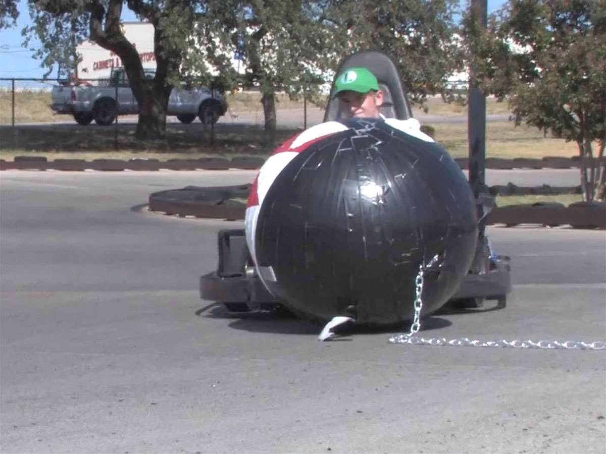 Fans create real life Mario Kart go-karts, turtle shells included