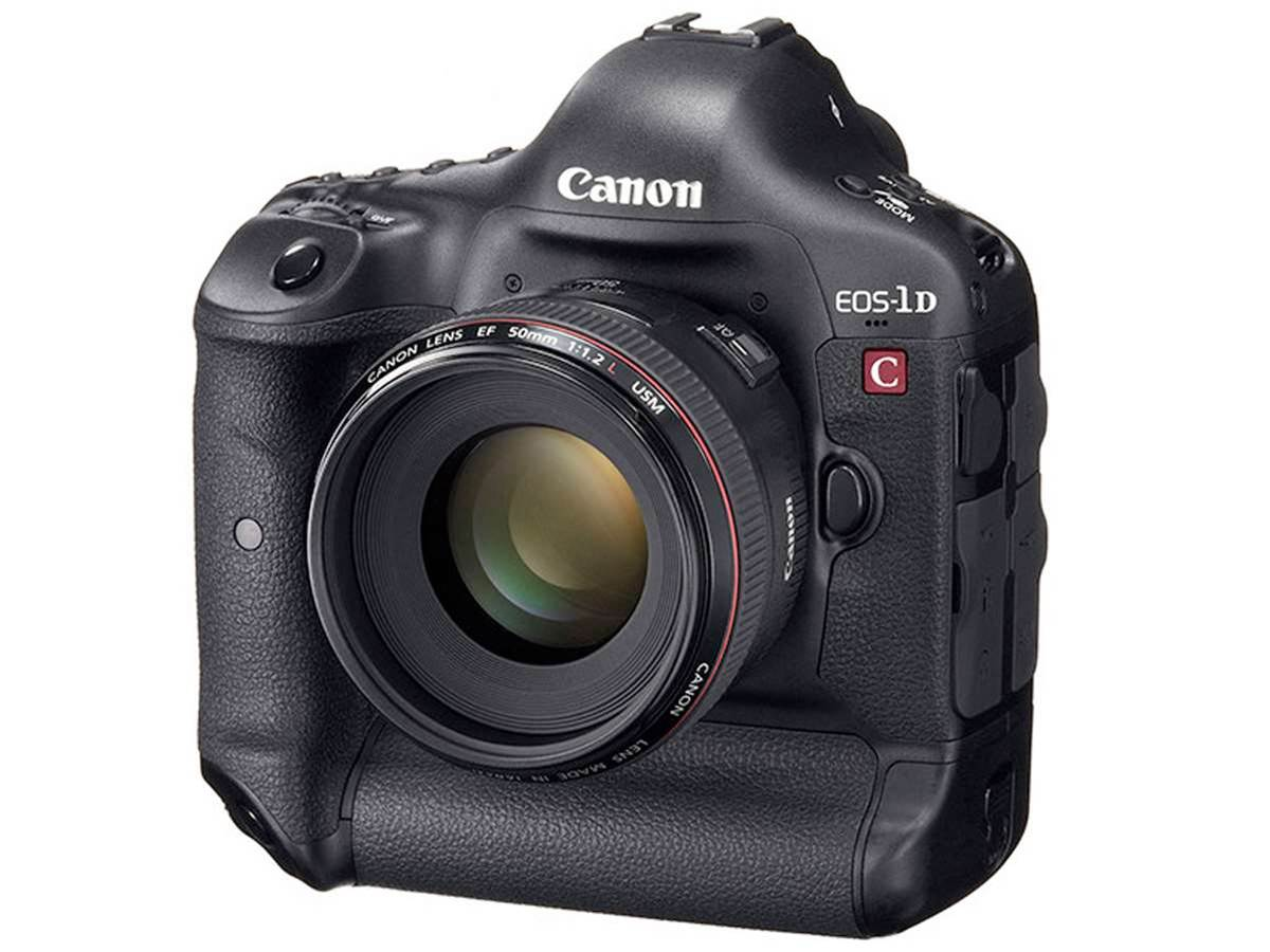 Canon EOS 1D C brings 25fps video to the world's first 4K SLR