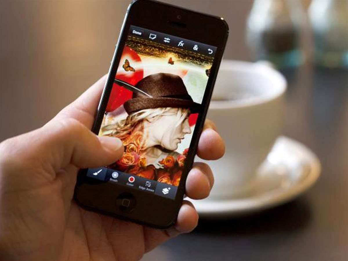 Do Photoshop-style image editing on your iPhone for peanuts
