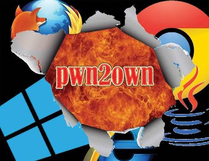 Chrome; Firefox; IE 10; Java; Win 8 fall at #pwn2own hackfest