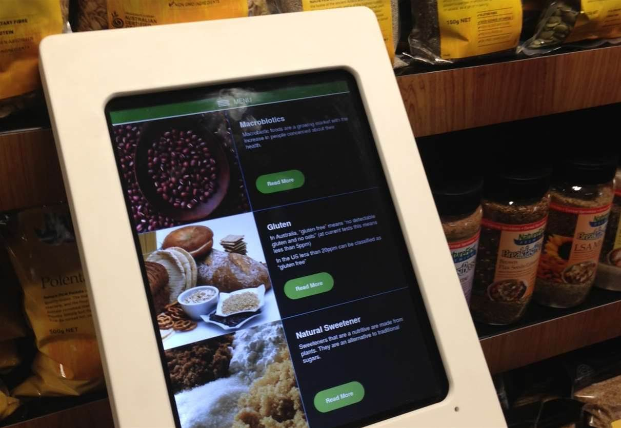 Coles deploys tablets in 'store of the future'