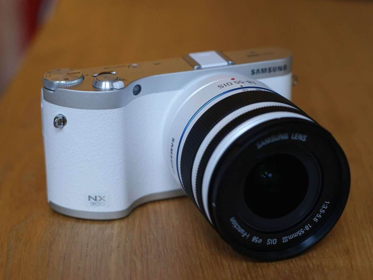 Hands on – Samsung NX300