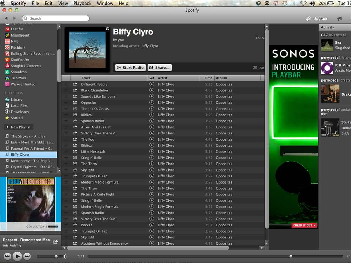 Spotify has been overworking your hard disk since June